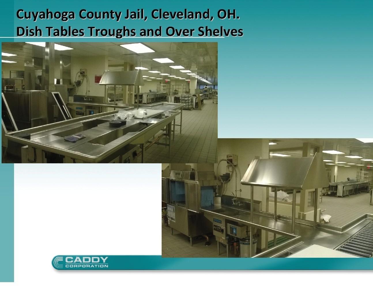 Caddy Corporation - Project Spotlight - Cuyahoga County Jail